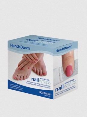 HandsDown® NAIL WRAPS-100 count box